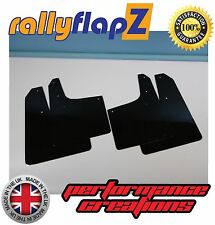 Parafanghi stile Rally PEUGEOT 206 GTi parafanghi Qty4 rallyflapZ (3mm PVC) Nero
