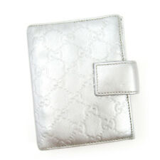 Auth Gucci Notebook Cover Gucci Shima Leather Auth T17244