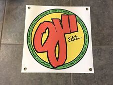 OJ II Elites banner sign shop wall garage skateboard wheels OJII skate board