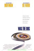 WAG THE DOG MOVIE POSTER Original 27x40 ROBERT DE NIRO 1997