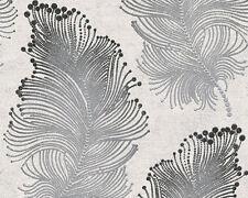Rollos de papel pintado A.S. Création color principal negro