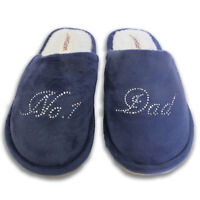 Crystal Best House slippers personalised Rhinestone christmas mothers day gift