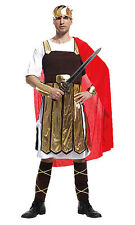 Roman Spartan Greek Warrior Gladiator Halloween Party Mens Fancy Dress Costume