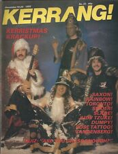 KERRANG! #31 DEC 1982: RAINBOW Rose Tattoo SAXON Toronto JOHN WAITE Ian Gillan