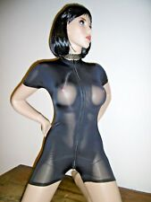 COMBINAISON MOULANTE SEXY CATSUIT SHINY TU 2 VOIES OVERALL ALL IN ONE 964-