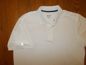 BROOKS BROTHERS SHORT SLEEVE WHITE POLO SHIRT MENS XXL EXCELLENT CONDITION