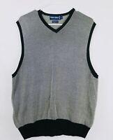 Vintage Polo Golf Ralph Lauren V Neck Fleece Sweater Vest Mens Size Large