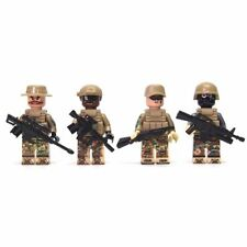 Modern Toy Soldiers 2 - Compatible with Lego - Military War Army Weapon Gun