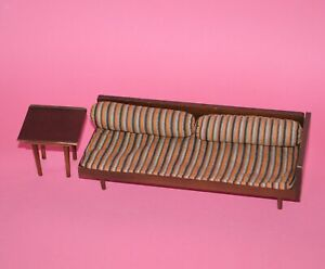 Vintage 1958 Mattel BARBIE MID CENTURY MODERN  Furniture