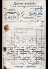 """CHARTRES (28) EPICERIE CENTRALE """"G. MAURICE / G. LANGLOIS Succ"""" en 1915"""