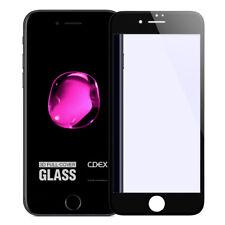 9H Verre Trempé iPhone 7 HD Lame de blindé 3D Protecteur d' ÉCRAN FULL NOIR