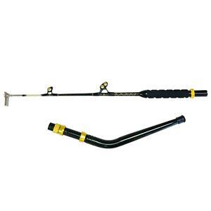 160-200 lb. Bent Butt Long Dredge Fishing Rod - Swing Tip - Tournament Edition