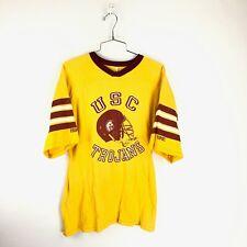 vintage 80s Usc Trojans Football Jersey T-Shirt Medium southern California