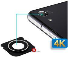 orig. lente de cámara Cristal Con Cubierta ANILLO PARA SONY XPERIA Z3 COMPACT
