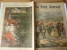 PETIT JOURNAL- 1898- N° 405 ALGERIE arrestation assassins MORES  oeuvre BRUNERY2