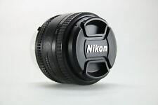 Nikon AF Nikkor 50mm 1:1,8D Objektiv 52mm Filtergewinde - Neu