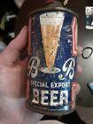 B B Special Export Low Profile Cone Top Beer Can Rainier SF 1-21-1939
