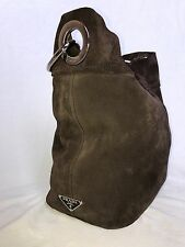 Authentic PRADA Leather Handbag Tote