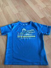Regatta Funktionsshirt Sportshirt Gr. 128 hellblau