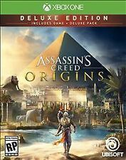 Assassin's Creed: Origins - Deluxe Edition (Xbox One, 2017)