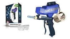Portable Sand Blaster Media Blasting Nozzle Gun With Glass & Mesh LEMATEC Tools