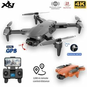GPS 4K Dual HD Camera Drone Aerial Video / Photo Brushless MotorFold Quadcopter