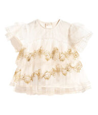 H&M STUDIO AW 16 COLLECTION 2016 GIRLS DESIGNER TOP SIZE 4-6  FANCY/HOLIDAY
