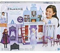 Disney Frozen 2 Fold And Go Arendelle Castle Playset toy gift elsa BRAND NEW