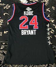 Adidas NBA 2015 All Star Game #24 Kobe Bryant LA Lakers Women's Black Jersey