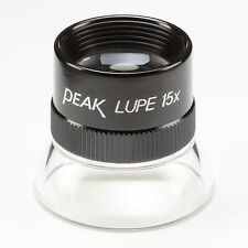 More details for peak 1962 loupe magnifier, achromatic 15x
