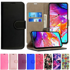 For Samsung A9 A8 A7 A6 A5 A3 Phone Case Leather Stand Flip Folio Wallet Cover