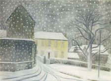 CANNS DOWN CHARITY CHRISTMAS CARDS Pack of 5 - Eric Ravilious - Halstead Road