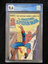 Official Marvel Index to the Amazing Spider-Man #2 CGC 9.6 (1985) - John Romita