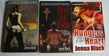 Lot of 3 JENNA BLACK pbs Paranormal Urban Fantasy THE DEVIL INSIDE You Know