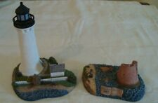 Harbour Lights Round Island Mississippi Lighthouse (2 pcs) Then & Now #242 2000