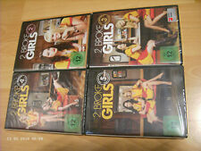 4x DVD-Box: 2 Broke Girls/komplette Staffel 2+3+4+5 (original deutsch/unbenutzt)