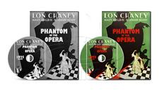 The Phantom of the Opera (1925+1929) Lon Chaney Original + Technicolor (2 x DVD)