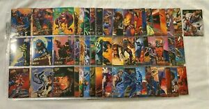 1995 Fleer Ultra Spider-Man Premiere GOLD SIGNATURE Parallel Chase Card Set 149