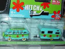 Greenlight HITCH & TOW VOLKSWAGEN SAMBA BUS & 1959 TRAILER MiJO EXCLUSIVE SET