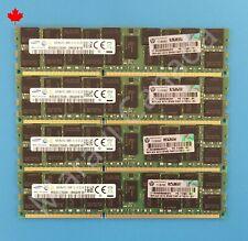 Samsung 64GB 4X16GB 2Rx4 PC3-14900R DDR3 RAM Memory HP 712383-081 715274-001
