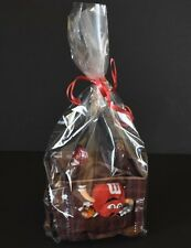 12 CLEAR CELLOPHANE CANDY BAGS GIFT FOOD BAGS FOOD GRADE PARTY BAGS PARTY FAVORS