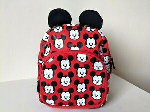 Disney Store / Mickey Mouse Print -  Mini Backpack / Bag