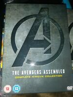 Avengers 4 Movie Collection (UK IMPORT) DVD [REGION 2] NEW