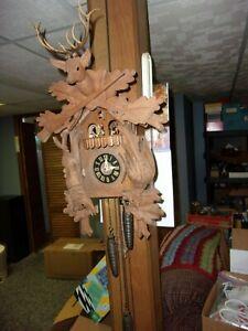 Vintage German Cuckoo Clock for Repair