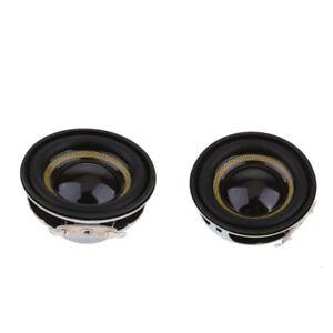 """2Piece 40mm 3W Stereo Audio Speaker 1.5""""4/8Ohm Full-range DIY Loudspeaker"""