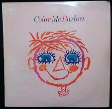 BARBRA STREISAND - COLOR ME BARBRA VINYL LP AUSTRALIA