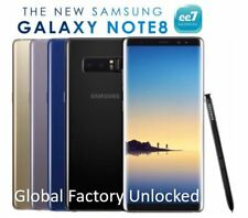 Nouveau Samsung Galaxy Note 8 N950FD Double SIM 6G / 64 GB Débloqué Note8 Black