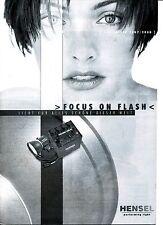 Hensel Preisliste Focus on Flash 2007 2008 Preise Blitzgeräte Lichtformer