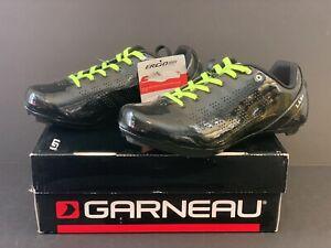 New Men's Size 7 - Louis Garneau - L.A. 84 Cycling Shoes - Black