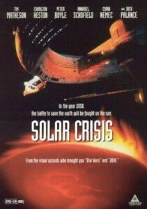 SOLAR CRISIS DVD - Charlton Heston (Region 1, 1999) Free Post